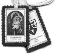 Szkaplerz – dar Matki Bożej